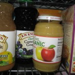 Bottled Juice and Apple Sauce